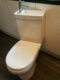 Cooke & Lewis DUETTO close coupled toilet and sink ...