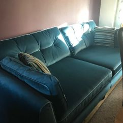 Teal Sofas Free Sofa Removal Manchester Cricketer From Sofology In Stock Cost 899 Brinsworth