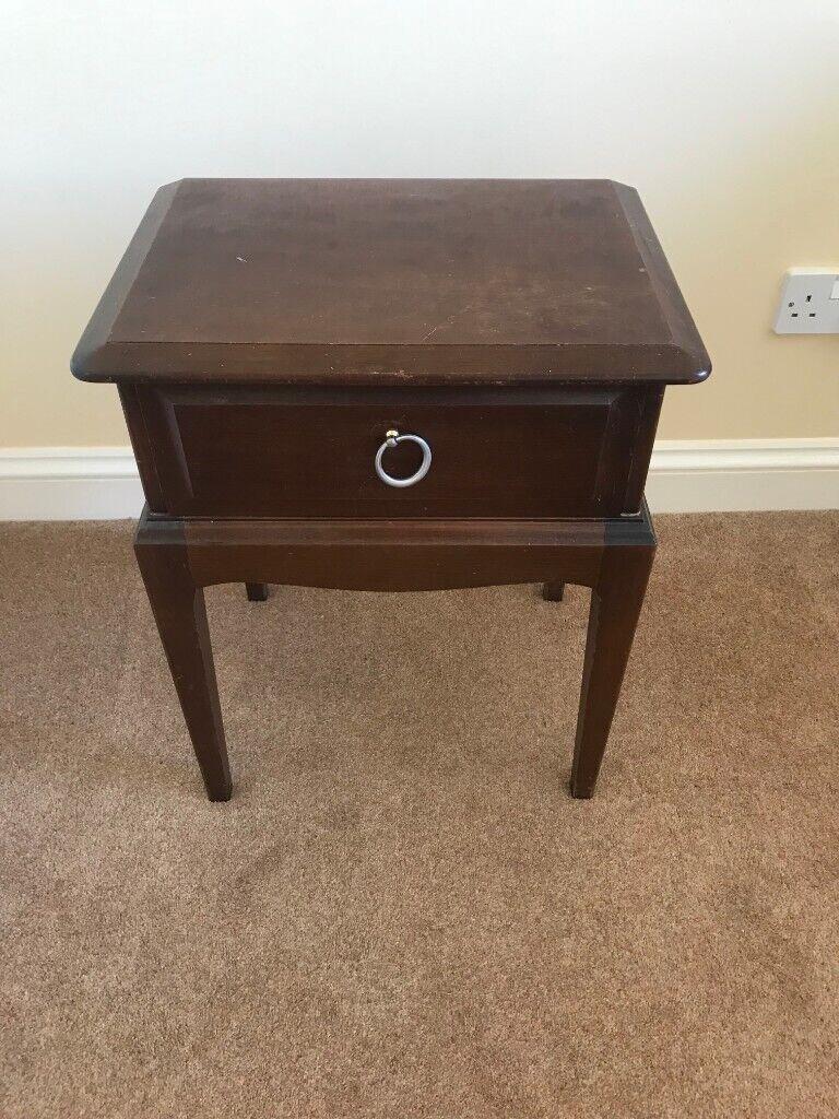 Dark Wood Bedside Table In Wadhurst East Sussex Gumtree