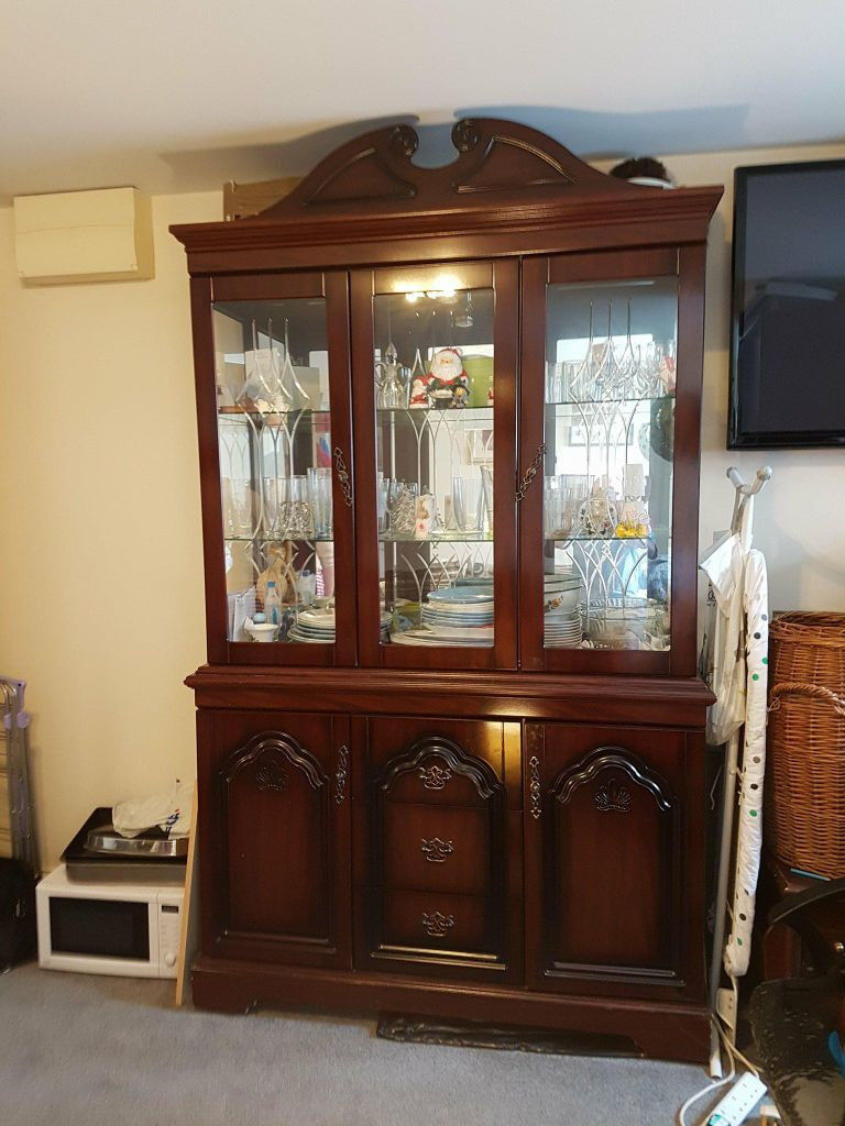 kitchen dresser 30 inch square table dining room display cabinet in henbury bristol