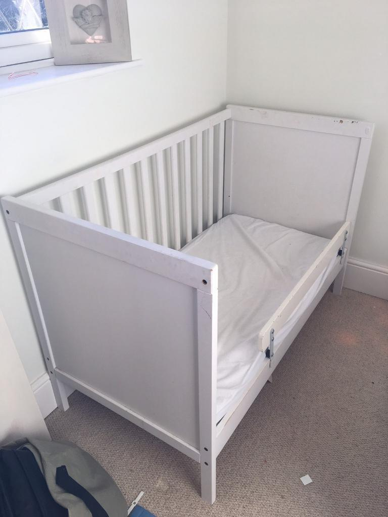 thomas the tank engine desk and chair snowman cover dollar tree ikea sundvik cot vyssa vakert mattress | in coventry, west midlands gumtree