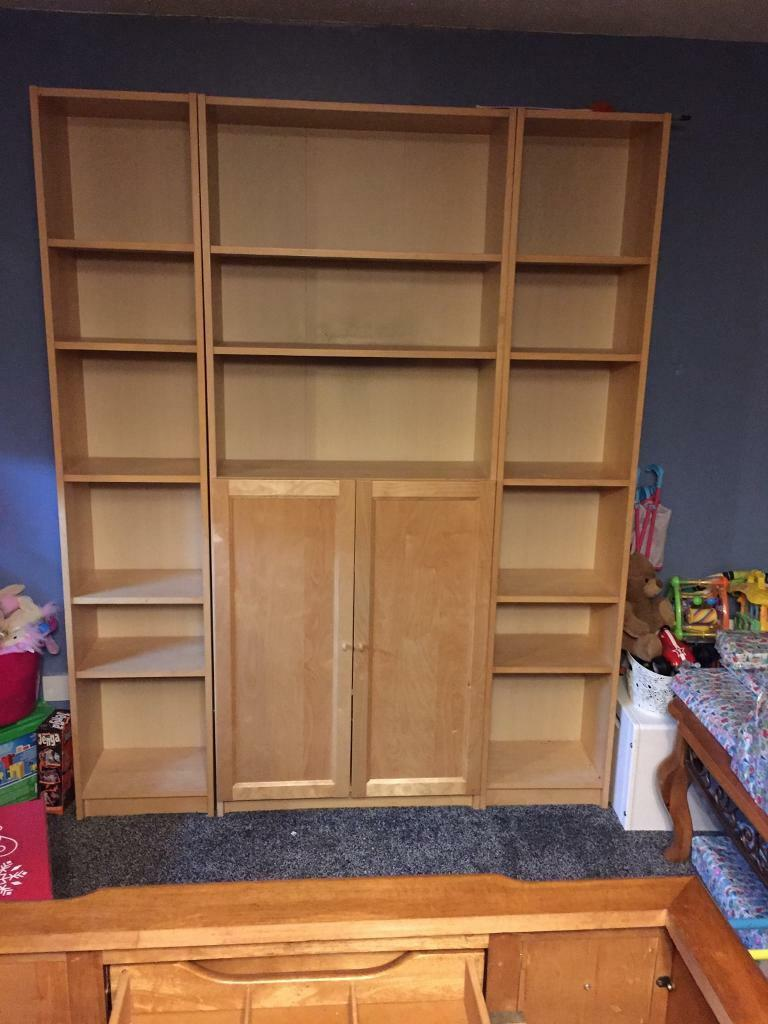 living room shelving units blue and brown curtains unit in basildon essex gumtree