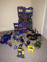 Batman Imaginext Toys - Batcave, two face van, penguin ...