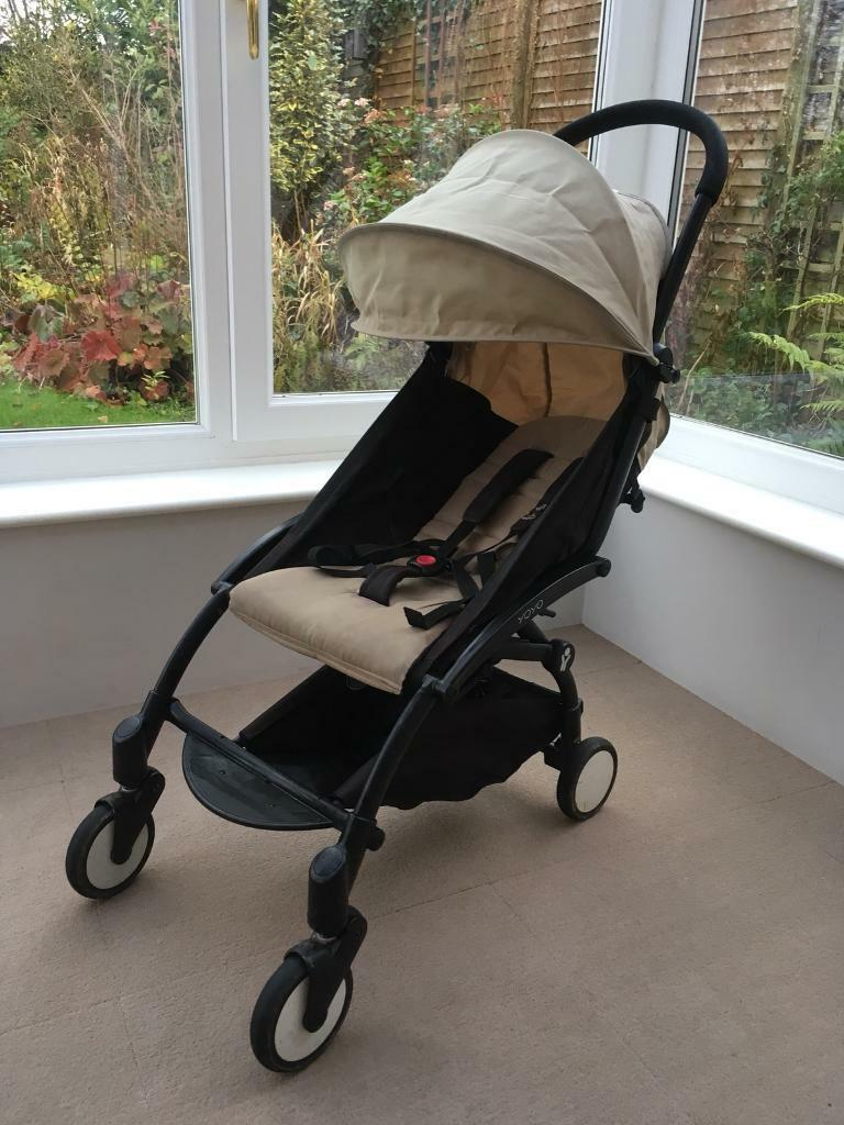Babyzen Yoyo Complete Birth Pushchair Package, Black/Taupe | in Wellington, Somerset | Gumtree