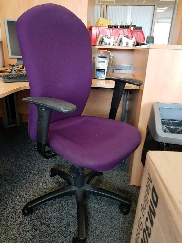lilac office chair best big and tall reviews purple chairs 30 each in newcastle tyne wear gumtree