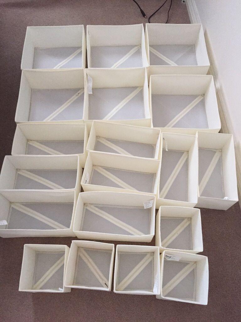 IKEA storage Drawer dividers inserts bedroom  in Falkirk  Gumtree