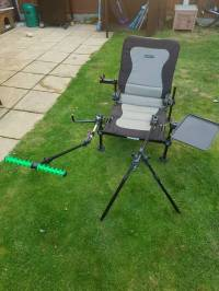Korum accessory chair with attachments | in Norwich ...