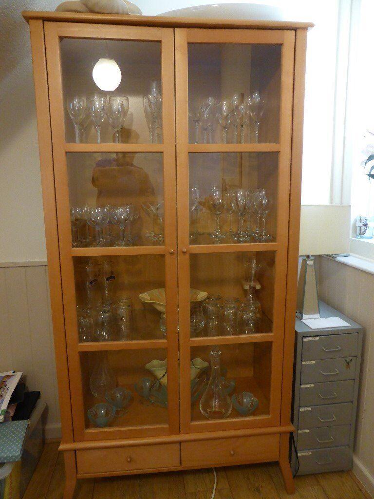 Ikea Kronvik Glass display cabinet  in Andover Hampshire  Gumtree