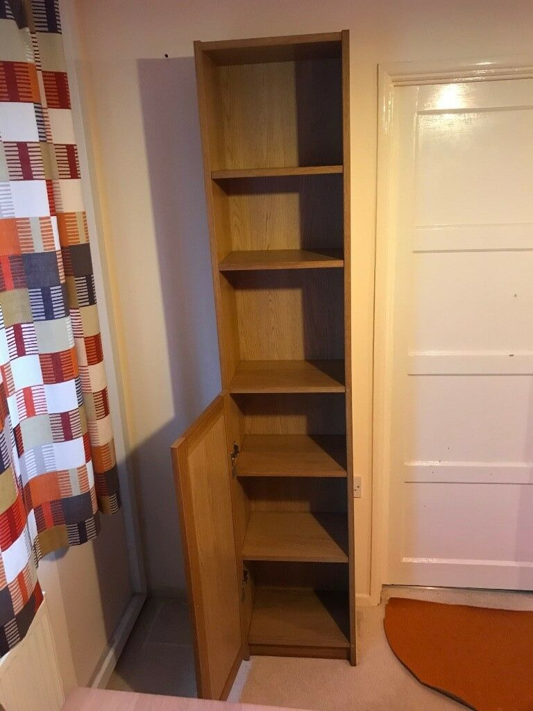 Ikea Billy Bookcase Slim Narrow Version With Adjustable Shelves And Bottom Half Door In Newport Gumtree