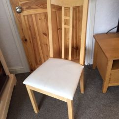 Cheap Folding Tables And Chairs Portable Pedicure Ikea Aron Upholstered Dining | In Cookridge, West Yorkshire Gumtree