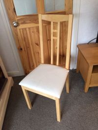 IKEA aron upholstered dining chairs | in Cookridge, West ...