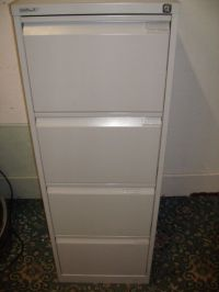 4 Drawer Metal Filing Cabinet ID 520/2/18 | in Perth ...