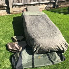 Fishing Chair Carry Bags Dark Brown Wood Dining Chairs Bed Memory Foam 6 Leg Bag Pillow Sleeping Frostline Cover