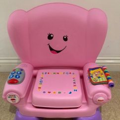 Fisher Price Laugh And Learn Chair Pink Desk Leans Back Too Far Smart Stages In Yateley