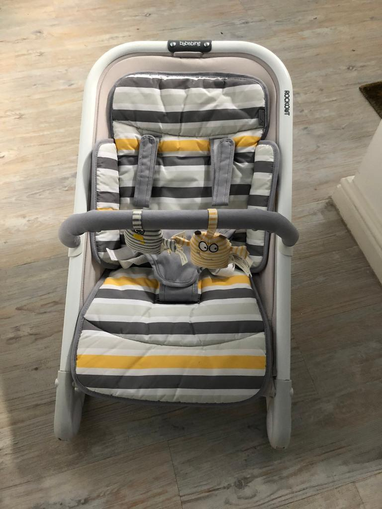 Bababing Rockout 3 Position Baby Rocker Bouncer Grey : bababing, rockout, position, rocker, bouncer, Bababing, Rockout, Position, Rocker, Bouncer, Viewer