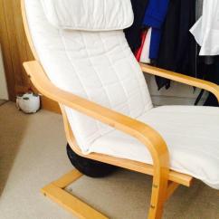 Ikea Poang Chair Covers Uk Boppy Baby Target With 2 | In Farnham, Surrey Gumtree