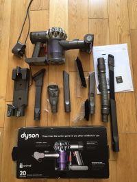 Dyson DC58 Animal handheld vacuum cleaner, plus wall mount ...