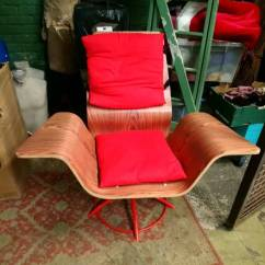 Unusual Armchair Twin Pull Out Chair 60 S Style Reproduction In Trafford Manchester