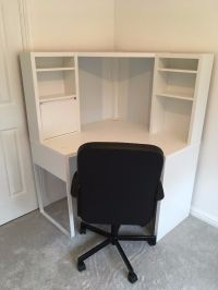 IKEA Micke Corner Computer Desk (white) | in Motherwell ...