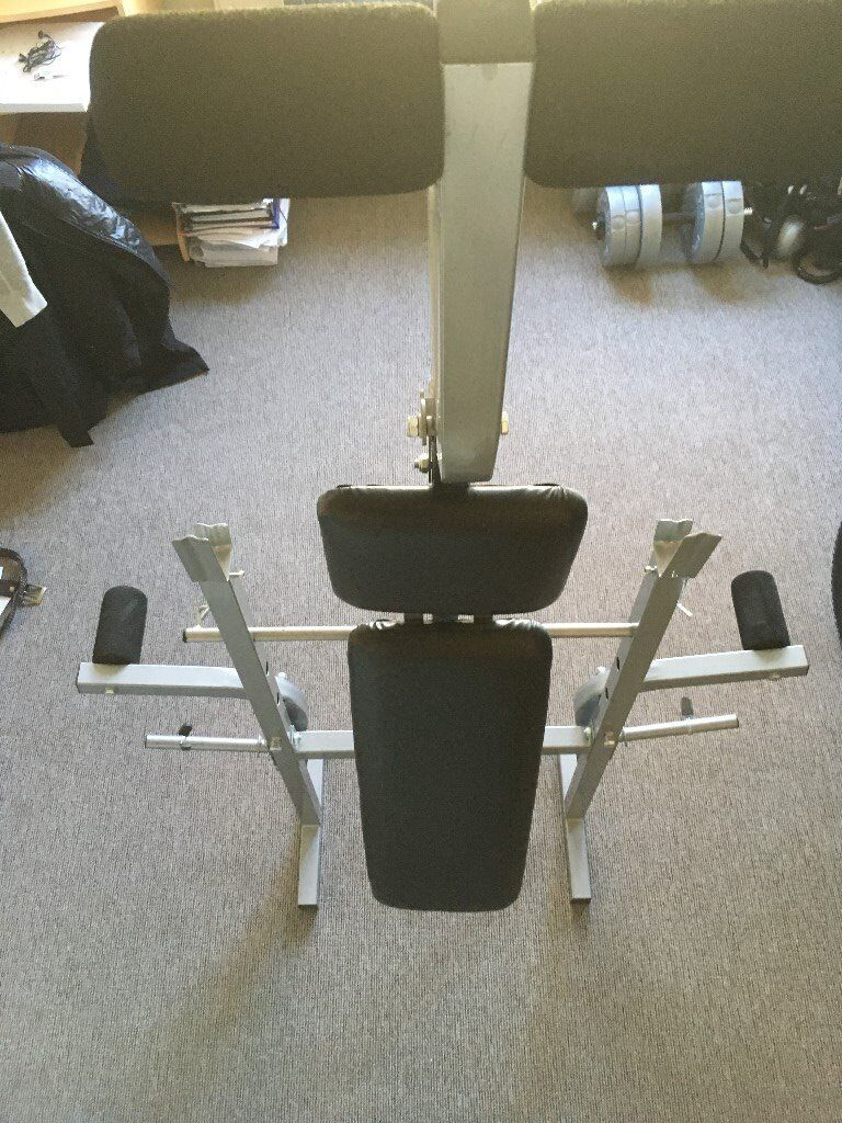 gym chest chair stool dwg weights bench adjustable multi folding fitness with and leg exercise london