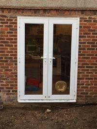 UPVC PATIO DOORS WITH CAT FLAP | in Shoreham-by-Sea, West ...