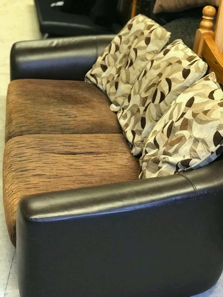material and leather sofa air bed repair kit 3 seater fabric in dunmurry belfast gumtree