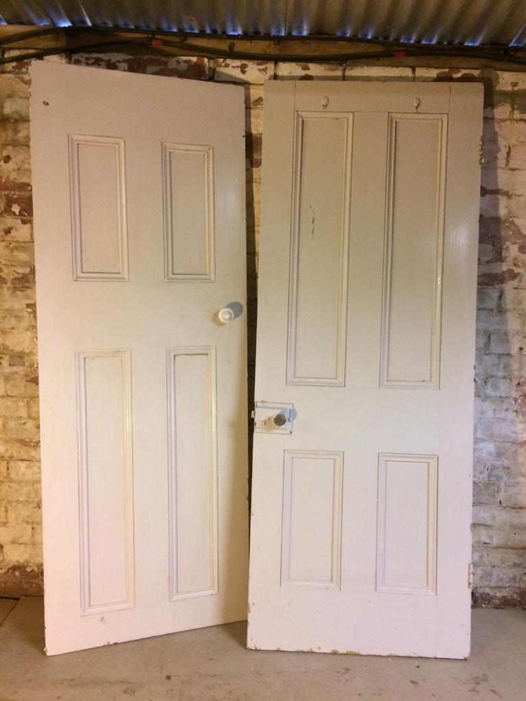 Reclaimed Georgian Internal Doors  in Caernarfon Gwynedd