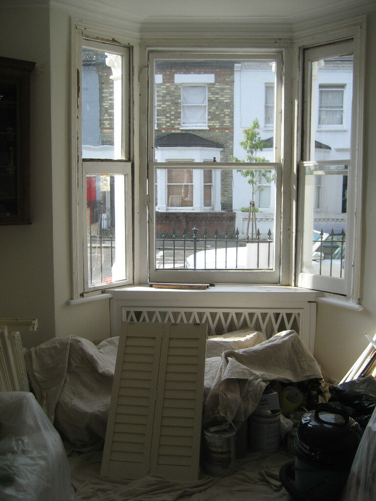 Plantation Shutters For Standard Victorian 3 Bay Windows In Hammersmith London Gumtree