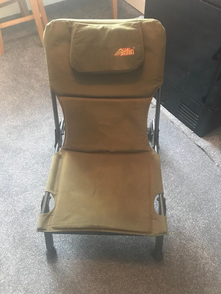fishing chair hand wheel swivel chairs outdoor gilfin in chatham kent gumtree
