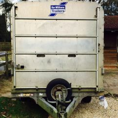 Used Chair Covers Wedding For Sale Electric Lift Ifor Williams Dp120 Sheep Trailer | In Oxford, Oxfordshire Gumtree