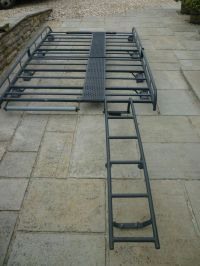 Vauxhall Vivaro SWB roof rack with walkway and ladder | in ...