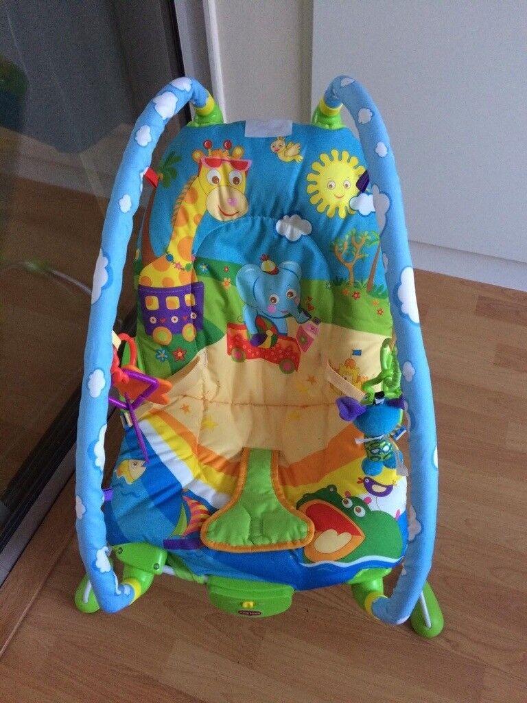tiny love bouncer chair walmart black baby in greenford london gumtree