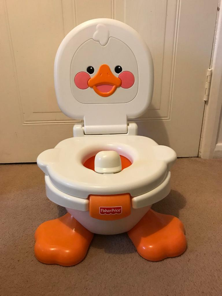 fisher price duck potty chair ikea armchair covers in quedgeley gloucestershire gumtree