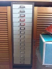 Bisley 15 drawer metal filing cabinet | in Bournemouth ...