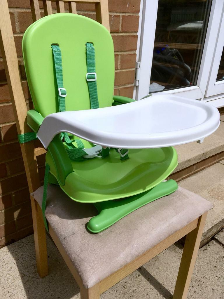 mothercare travel high chair booster seat pink ghost highchair in morley west yorkshire