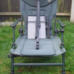 Fishing Chair Add Ons Ashley Furniture Twin Sleeper Jrc Relaxer Recliner Carp Barbel On Rod Rest System Side Tray
