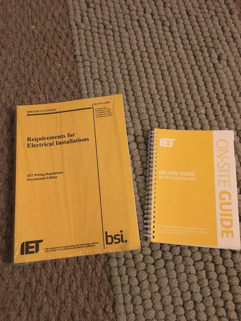 Iet Wiring Regulations 17th Edition Book