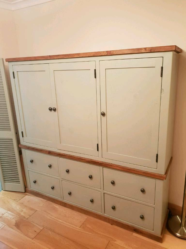 large kitchen pantry cabinet com cupboard in wood green london gumtree