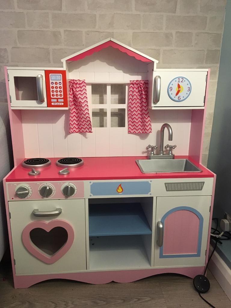 wooden toy kitchen magic grill in southampton hampshire gumtree