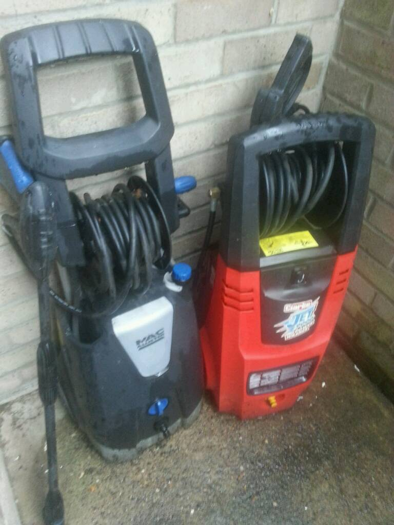 2x Pressure Washers Macallister And Clarke 9000 Spares Or Repairs