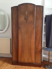 Art Deco vintage antique wardrobe closet armoire | in Old ...