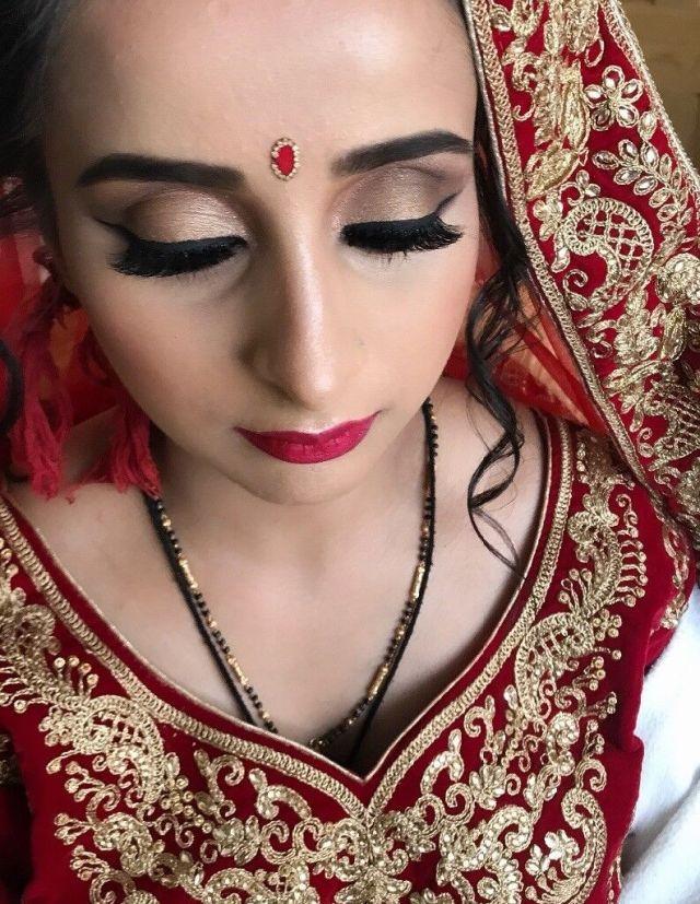 southampton based indian bridal hair & make-up artist | in