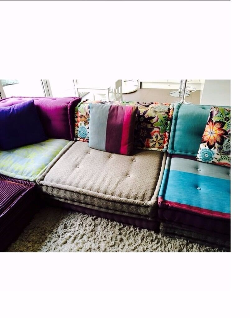 recliner 2 seater sofas leather how much to ship a sofa fedex roche bobois mah jong | in mill hill, london gumtree