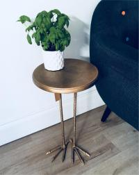Brand new in box, side table bird legs, urban outfitters ...