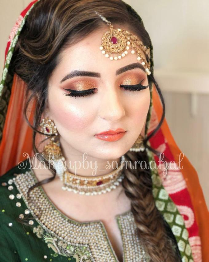 professional makeup artist and hair stylist.   in