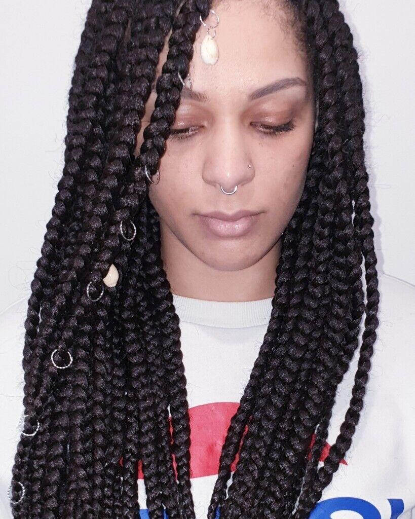 Natural Hairstyles Box Braids Goddess Locs Cornrows Styles In