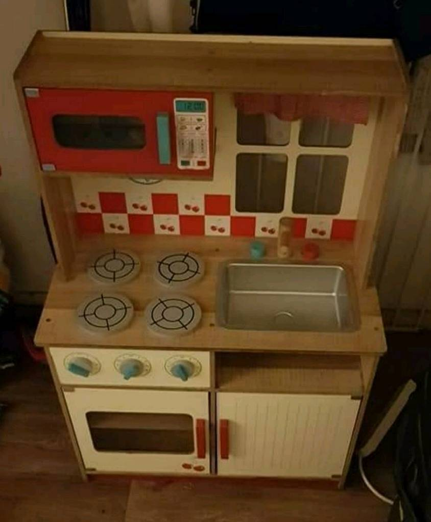 kids wooden kitchen molding on top of cabinets in walsall west midlands gumtree
