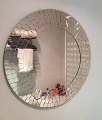 IKEA Bathroom Mirror Glass Mosaic