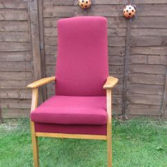 High Backed Chairs For The Elderly Kids Folding Chair With Canopy Back Arm Orthopedic Care Home Parker Knoll
