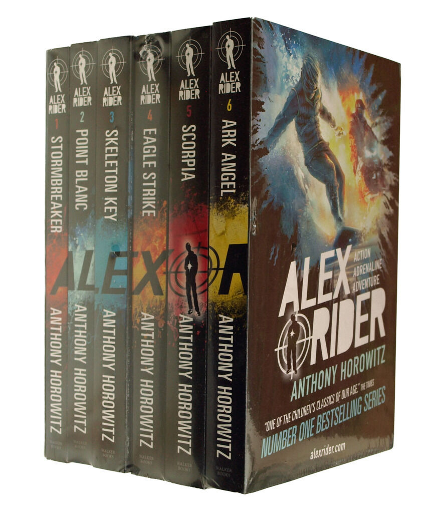 Alex Rider 6 Book pack Adventure Series Kids Stormbreaker Anthony Horowitz New 9781406375749 | eBay